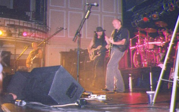 The Band on Stage
