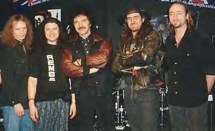 Band with Toni Iommi