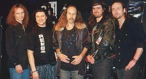 Band with Uli Jon Roth